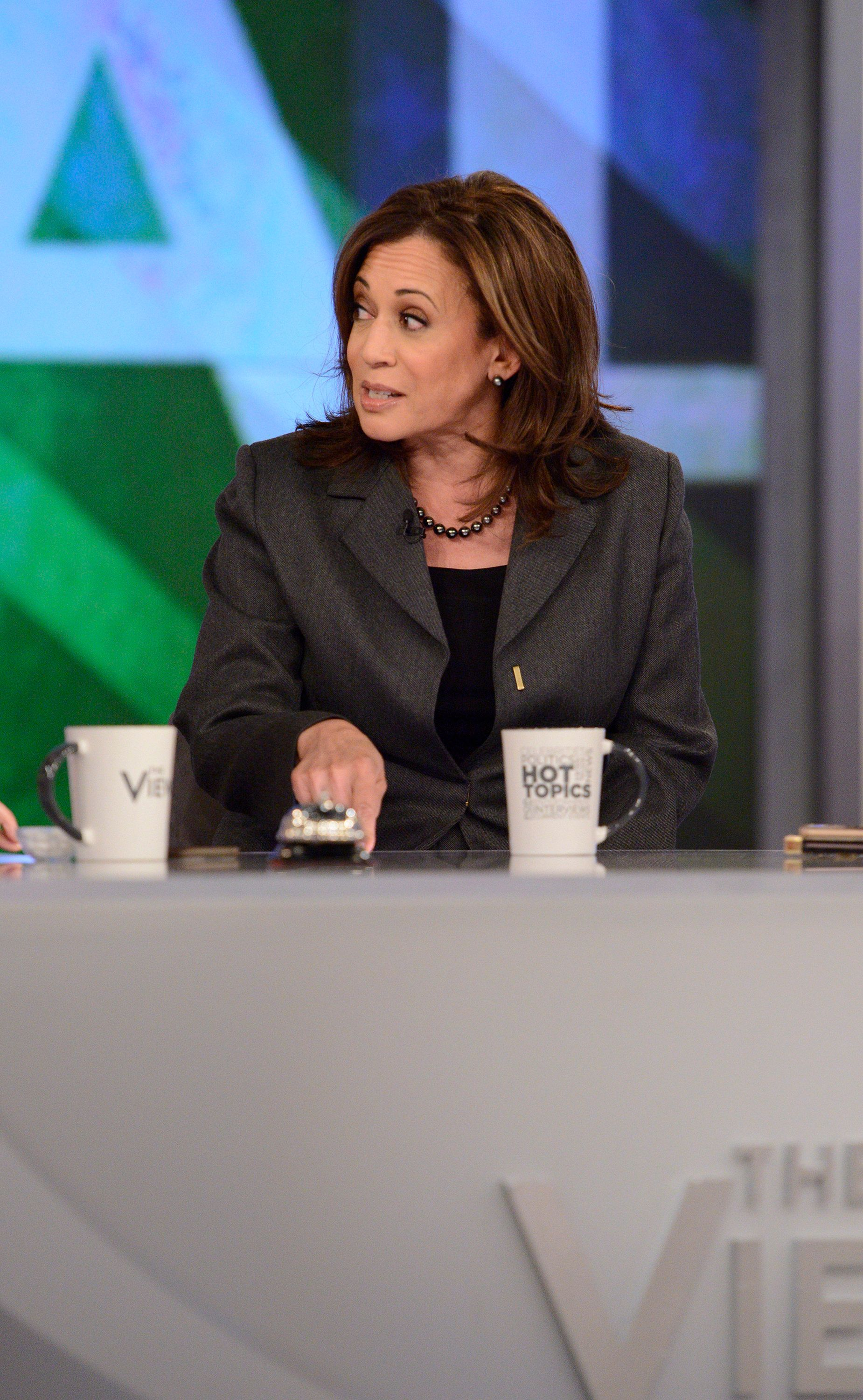 THE VIEW - 1/8/19 Senator Kamala Harris is a guest today, January 8, 2019 on ABC's 'The View.'  'The View' airs Monday-Friday (11:00 am-12:00 noon, ET) on the ABC Television Network.     (Photo by Lorenzo Bevilaqua/ABC via Getty Images) SENATOR KAMALA HARRIS