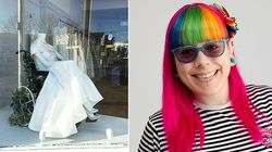 'So Often Disabled People Feel Invisible': Wedding Shop Praised For Wheelchair Window