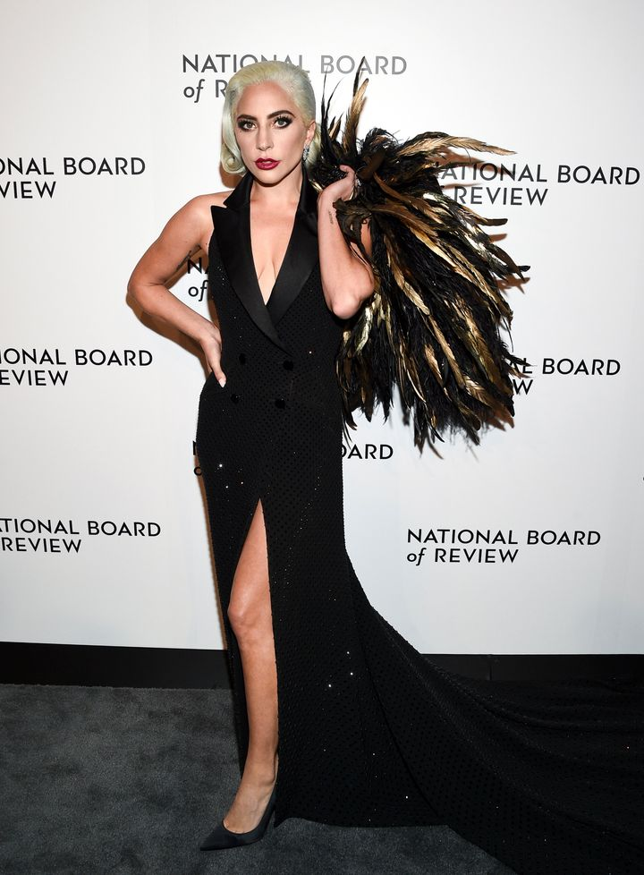Lady Gaga at the 2019 National Board of Review awards gala, where she was namedBest Actress, Jan. 8 in New York.