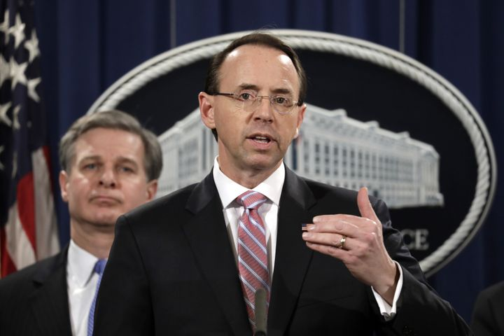 Image result for images of rosenstein barr mueller comey trump