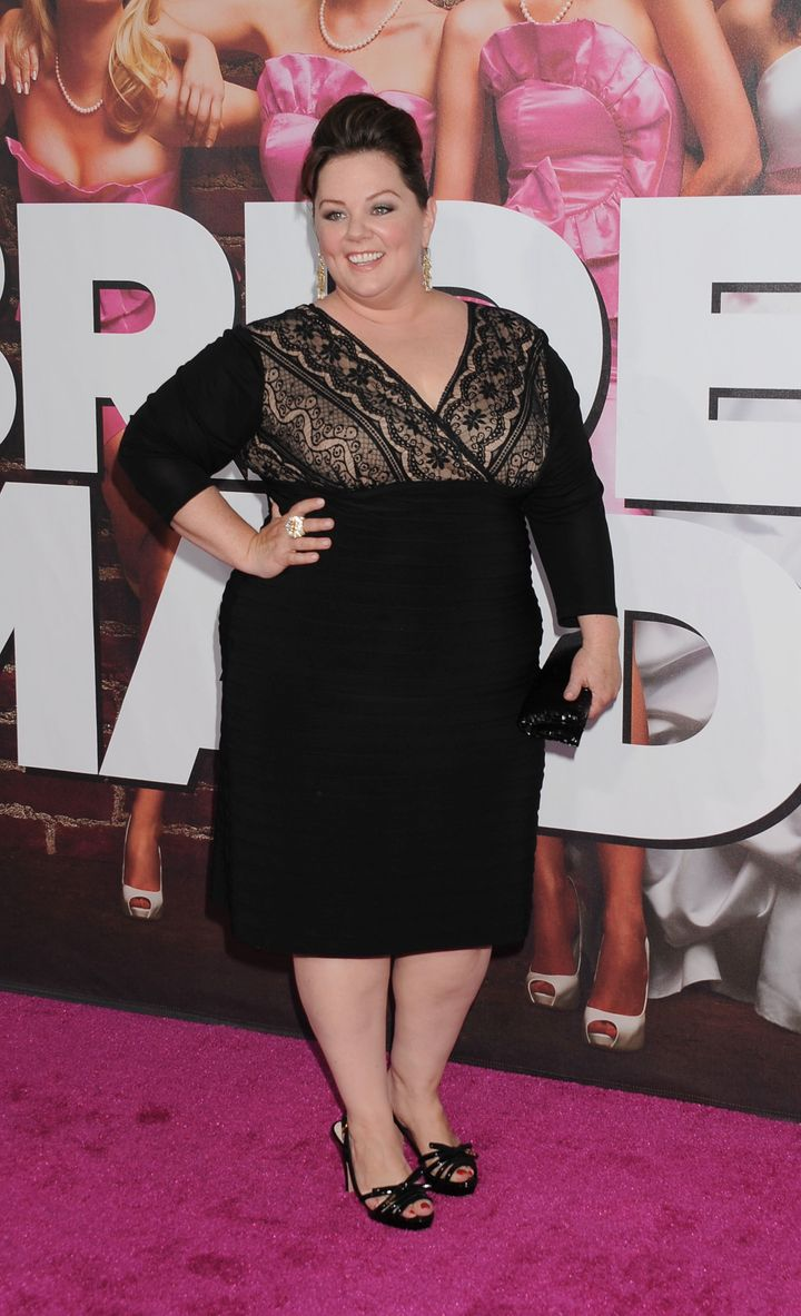 "Melissa McCarthy attends the premiere of ""Bridesmaids"" in 2011."