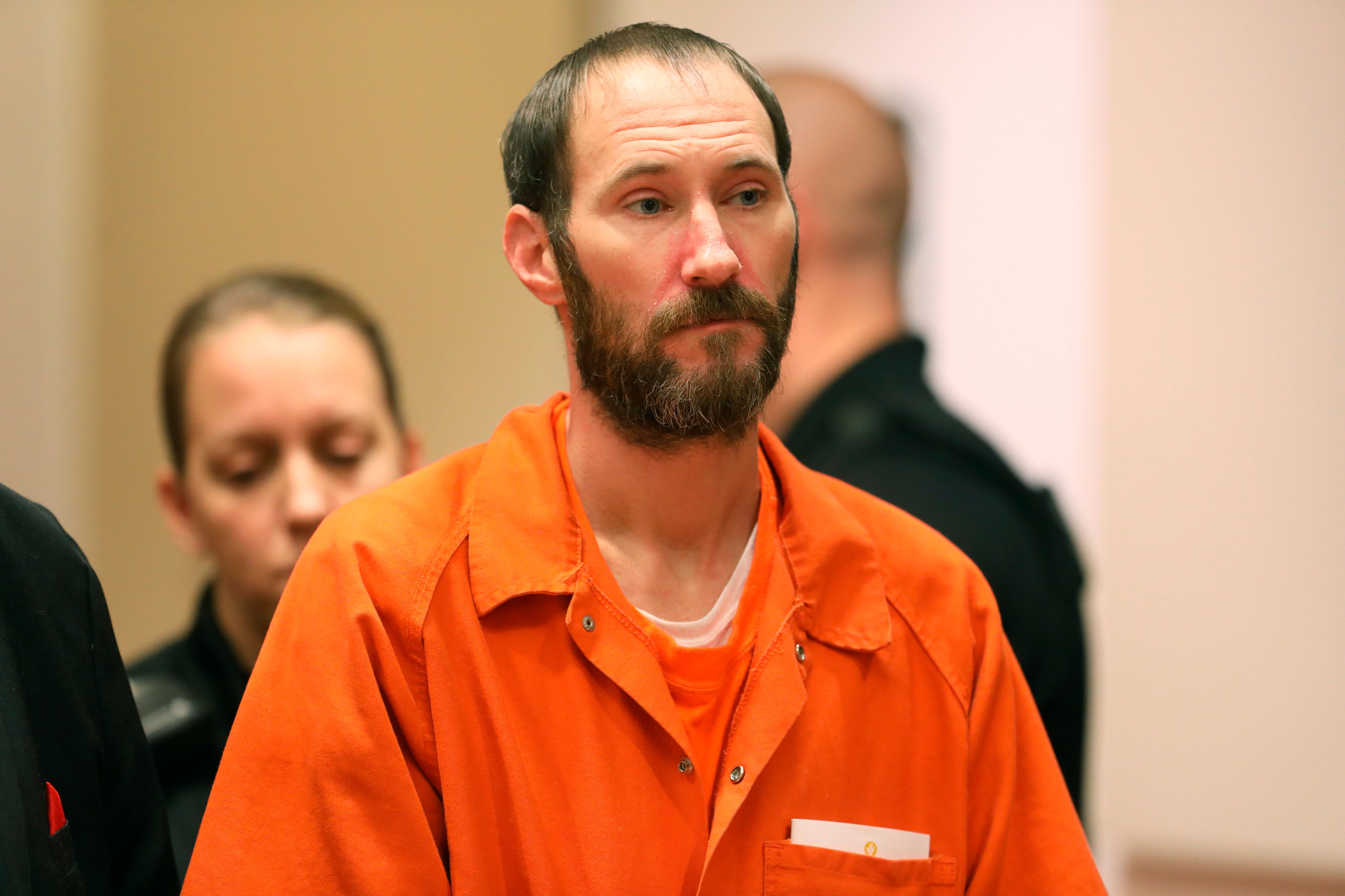 Johnny Bobbitt Jr. is seen in December at a hearing in a New Jersey courtroom. He failed to appear for a hearing earlier