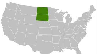 what if North and south dakota were merged into Megakota