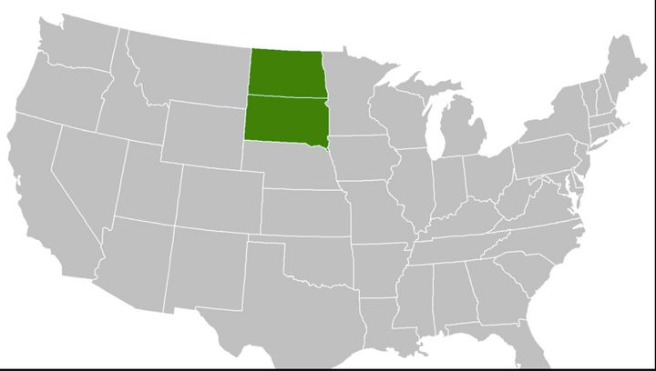 "More than 5,000 people say they'd like to see North and South Dakota merge into a new state called ""MegaKota."""
