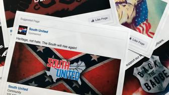 """FILE - This Nov. 1, 2017 file photo shows prints of some of the Facebook ads linked to a Russian effort to disrupt the American political process and stir up tensions around divisive social issues, released by members of the U.S. House Intelligence committee, in Washington. According to a study published Wednesday, Jan. 9, 2019 in Science Advances, people over 65 and conservatives shared far more false information in 2016 on Facebook than others. Researchers say that for every piece of """"fake news"""" shared by young adults or moderates or super liberals, senior citizens and very conservatives shared about 7 false items. Experts say seniors might not discern truth from fiction on social media as easily. They say sheer volume of pro-Trump false info may have skewed the sharing numbers to the right.  (AP Photo/Jon Elswick, File)"""