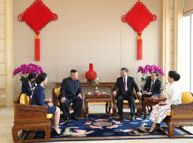 시진핑 주석이 김정은 위원장의 방북초청을