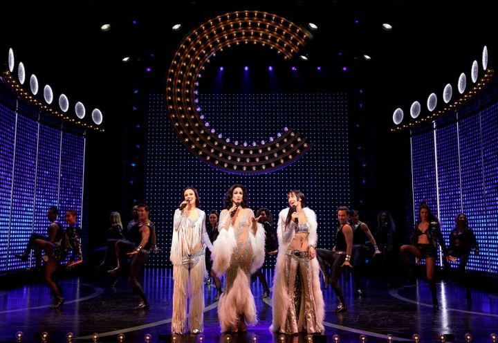 "Teal Wicks, Stephanie J. Block and Michaela Diamond play Cher at different stages of her life and career in ""The Cher Show,"""