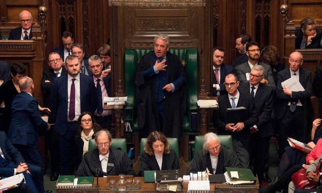 What Theresa May's Latest Defeat Means For Brexit And Under-Fire Speaker John
