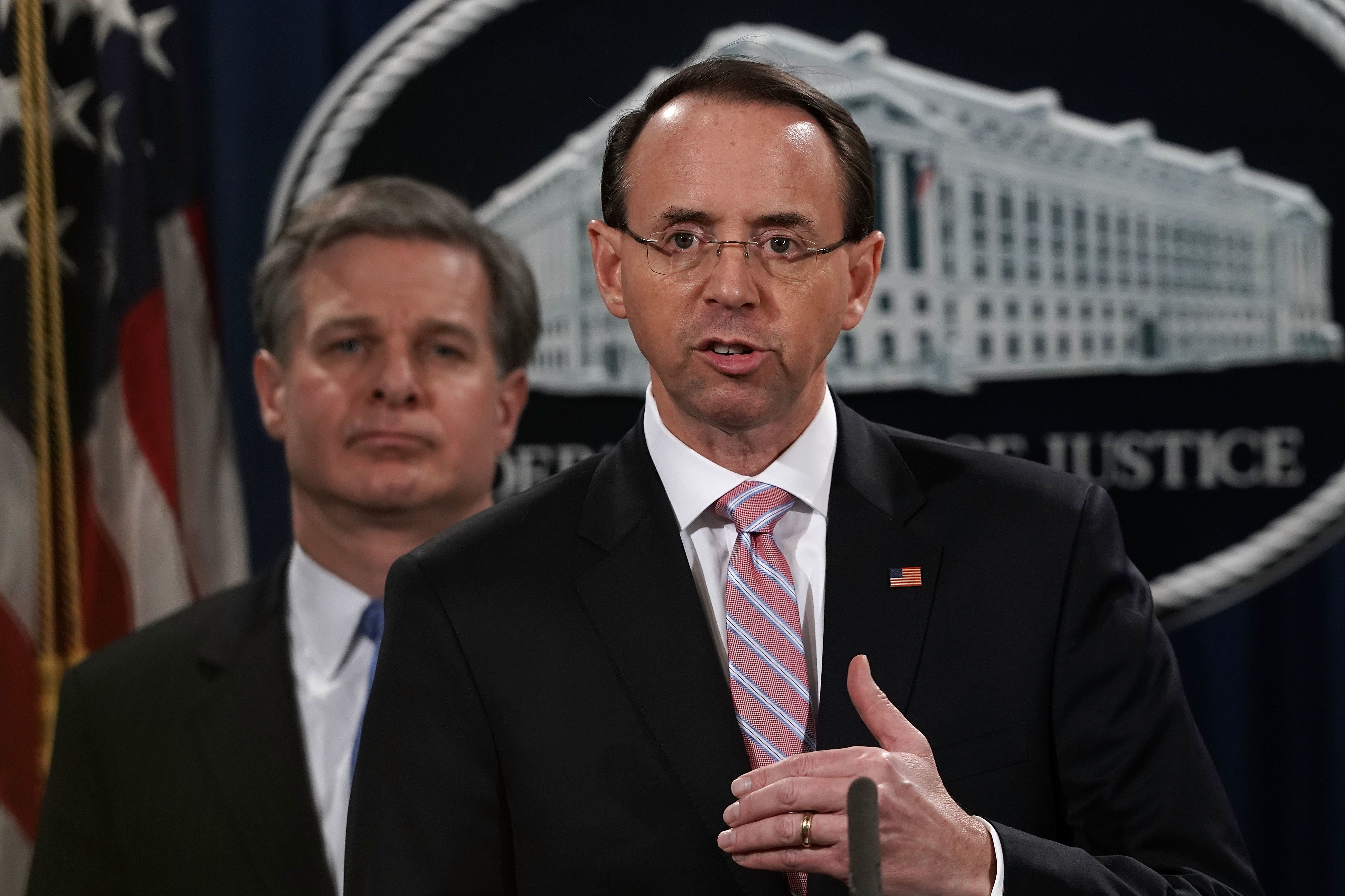 '러시아 스캔들' 특검 임명했던 로젠스타인이 곧