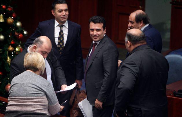 Ζάεφ: Η Ελλάδα δεν μπορεί να μας αρνηθεί τη μακεδονική