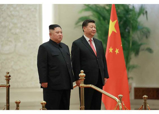 김정은이 중국에 간 이유, 신년사에 힌트가