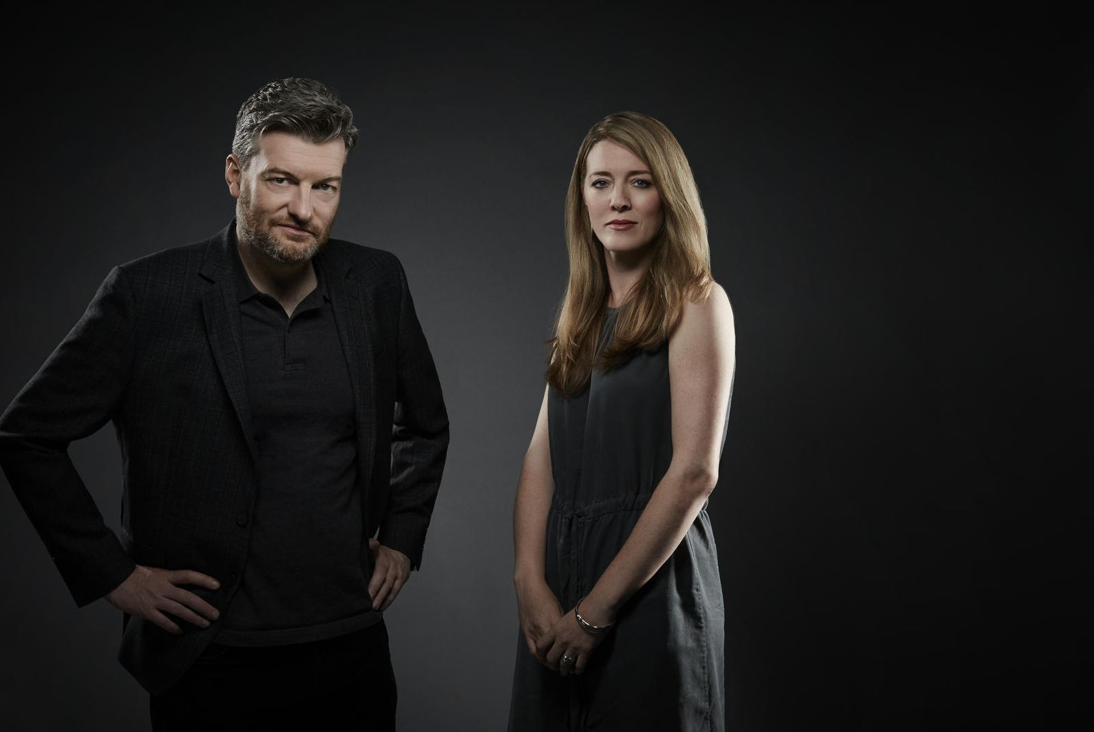 'Black Mirror' Creators Charlie Brooker And Annabel Jones Take On 'Bandersnatch'