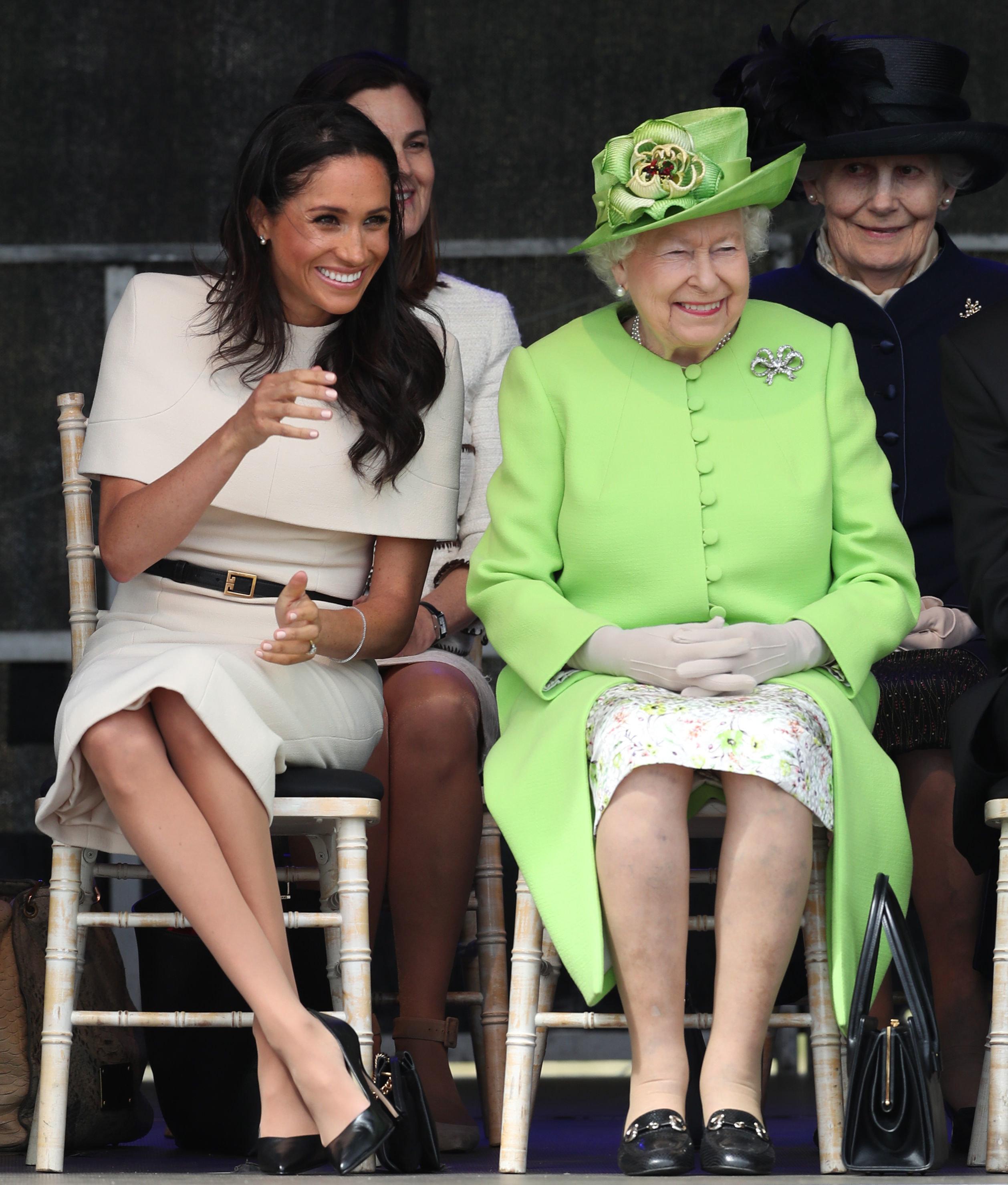 Herzogin Meghan übernimmt zwei Ämter von der Queen