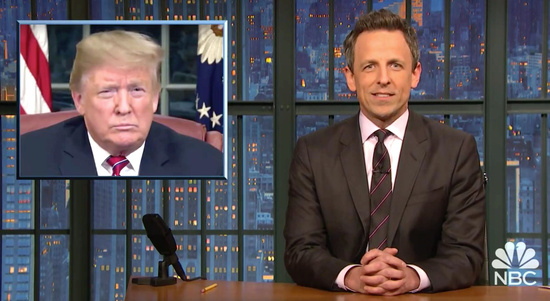 Seth Meyers Crunches All Trump's Numbers On The