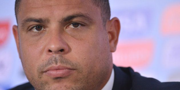 Brazilian former footballer and member of the 2014 World Cup local organizing committee, Ronaldo Nazario,...