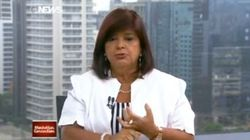 Dona do Magazine Luiza SAMBA na cara de jornalistas da