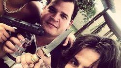 FOTO: Munhoz e Mariano causam no