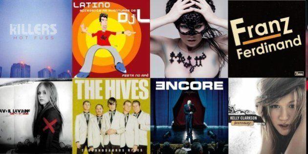 50 discos que completam uma década em