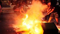 ASSISTA: Manifestante é agredida por PM em São