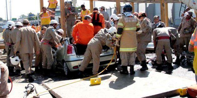 Motorista de acidente na Linha Amarela falava ao celular, diz polícia do
