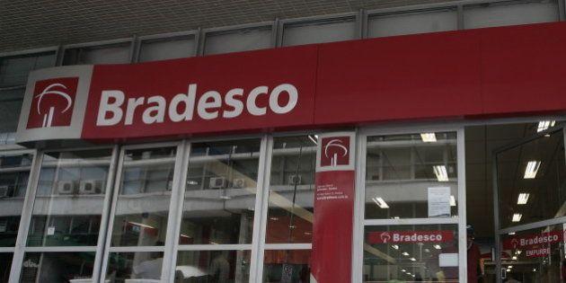 Lucro do Bradesco atinge R$ 12 bi em
