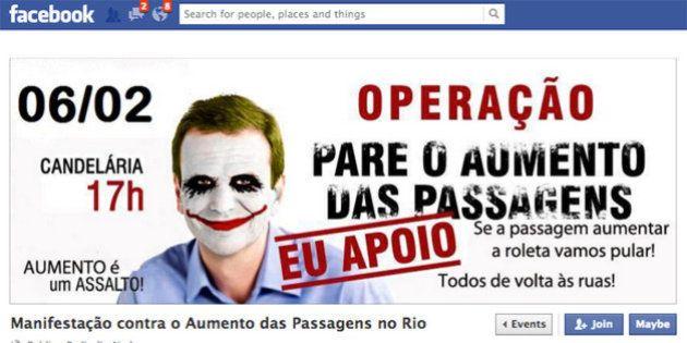 Passagem a R$ 3 no Rio: cariocas protestam contra
