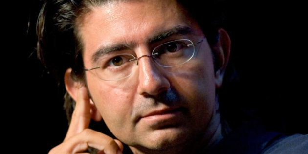 UNITED STATES - JUNE 13: Pierre Omidyar, founder and chairman of the board of eBay, speaks at the eBay...