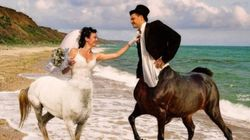 30 imagens que provam quão estranhos são os casamentos na