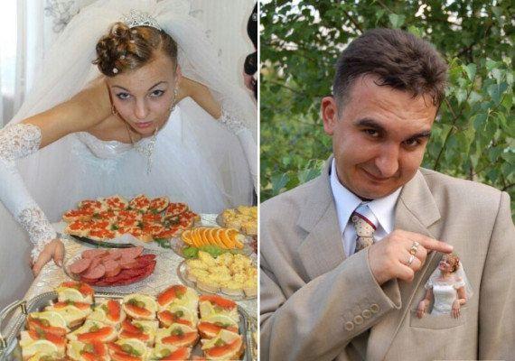 30 imagens que provam quão estranhos são os casamentos
