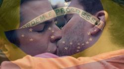 O beijo gay em