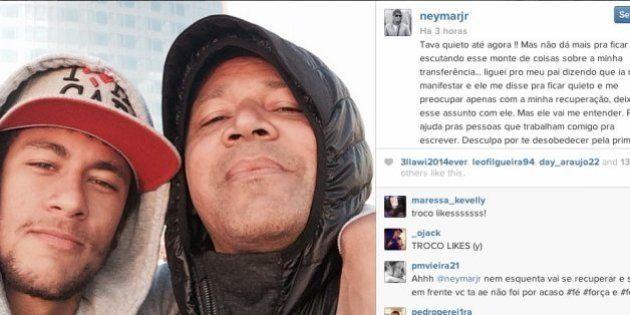 Polêmica Neymar: jogador desabafa no