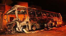 Quem botar fogo em ônibus deverá ser fichado pela
