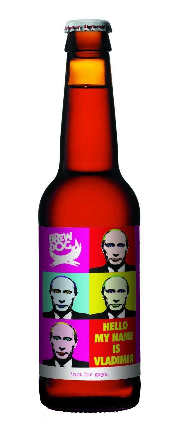 Cerveja debocha de Putin às vésperas de jogos de inverno