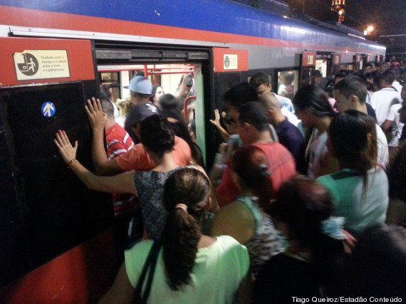 Caos no metrô: SP x