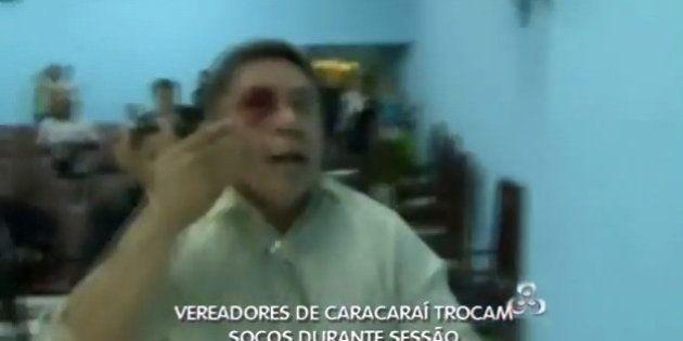 Vereadores brigam na Câmara Municipal de Caracaraí