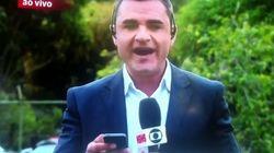 ASSISTA: Repórter da Globo News se enrola para dizer