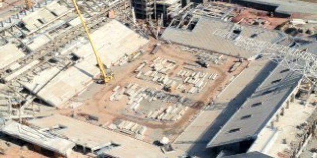 Estádio do Corinthians em construção no bairro de Itaquera, zona leste de São PauloFoto: Elaine Freires,...