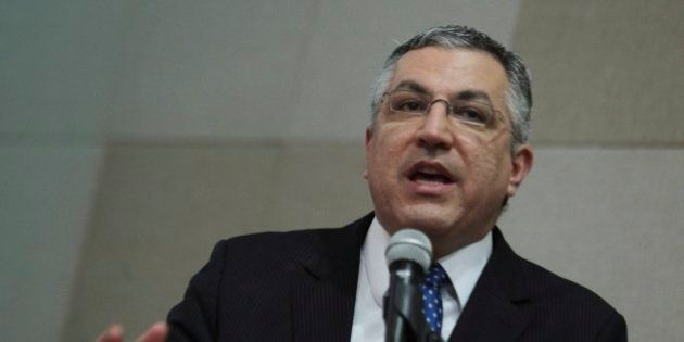 BRASILIA, BRAZIL - SEPTEMBER 25: (BRAZIL OUT) Health Minister Alexandre Padilha during he IX Congress...
