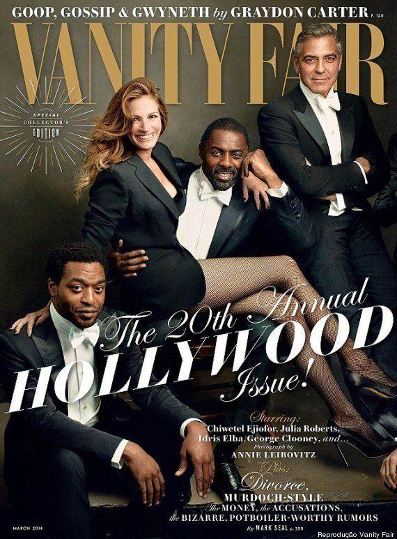 Brad Pitt, Scarlett Johansson e outros famosos sem maquiagem na Vanity
