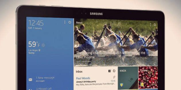 Lançamentos Samsung: tablets NotePRO e