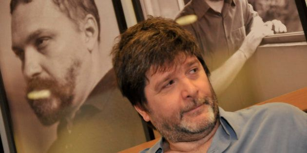 SAO PAULO, BRAZIL - NOVEMBER 19: Brazilian writer Marcelo Rubens Paiva during a literature and theatre...