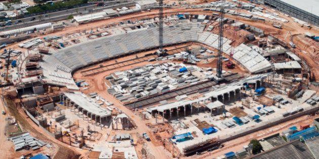Manaus, Julho de 2012 - Obras da Arena Amazônia.(Foto: Gideão Santos/Monitoramento - Ministério do