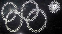 Sochi: mosaico quase põe cerimônia a