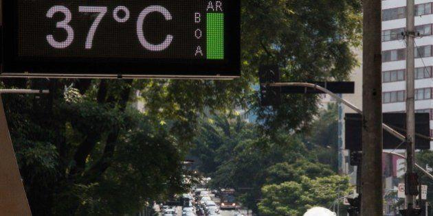 Calor recorde: Temperatura em SP chega a 36,4
