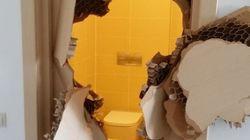 SOCHI 2014: Trancado no banheiro? Ora, quebre a