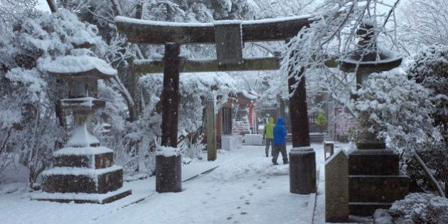 Japão enfrenta pior nevasca desde II Guerra Mundial
