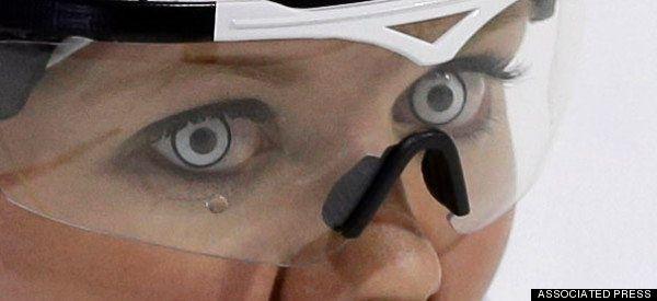 Sochi 2014: Grete Gaim, a dona dos olhos mais assustadores das Olimpíadas de
