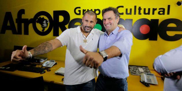 Aécio Neves: segurança é prioridade no Rio de
