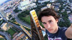 Um russo e a (verdadeira) selfie mais perigosa do