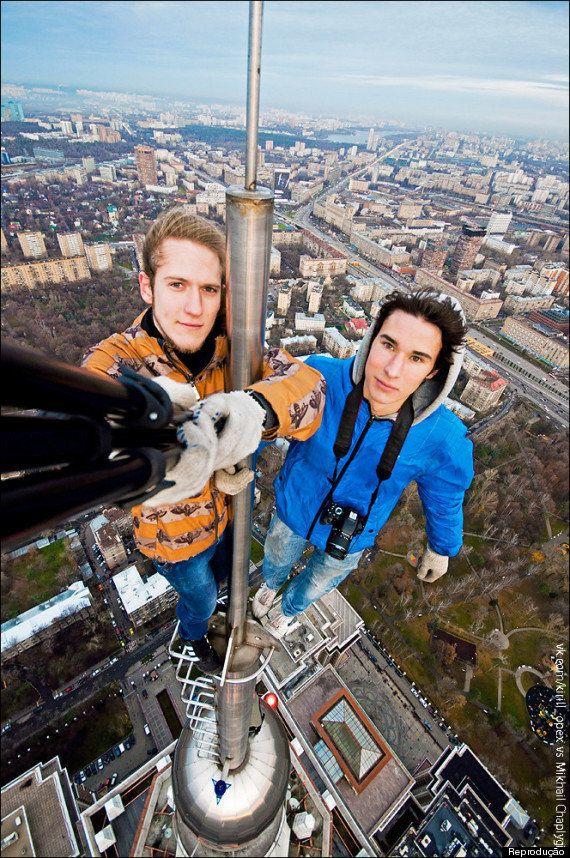 Kirill Oreshkin e a (verdadeira) selfie mais perigosa do mundo